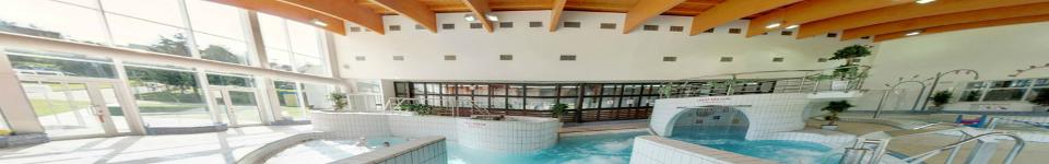 Modernizace sportovního areálu města Pelhřimov.Systém řídí teplotu a kvalitu vody pro bazény a ostatní vodní atrakce.