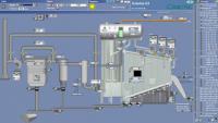 Snímk vizualizace technologie kotle