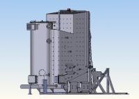 Kotel na biomasu - celé balíky slámy